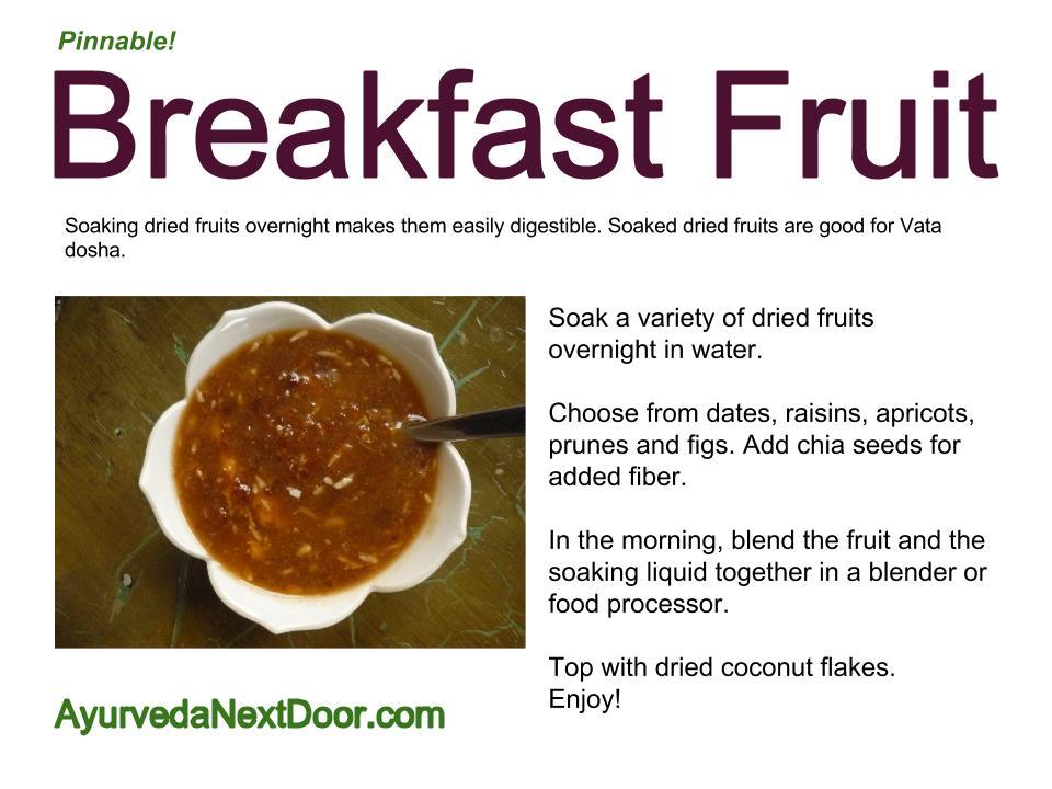 Breakfast Fruit(1)
