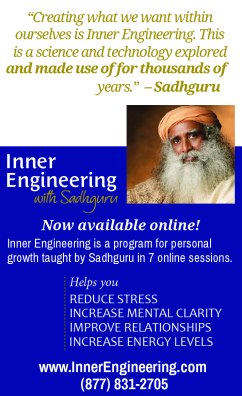 Inner Engineering with Sadhguru