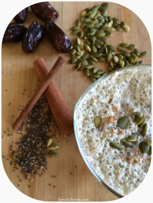 Chia Drinks: An Ayurvedic Pumpkin Ksheera