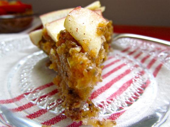 Easy No Bake Apple Pecan Pie (Gluten Free, Sugar Free)