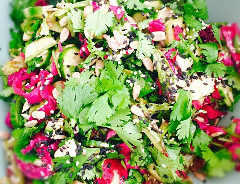 Thai Style Cabbage Salad
