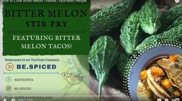 Bitter Melon Stir-Fry Recipe + Bitter Melon Tacos